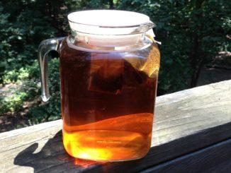 Sun-brewed iced tea
