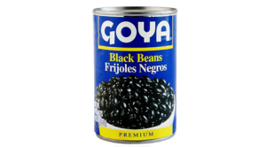 Goya brand canned black beans (Photo Courtesy goya.com)