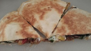 Garden Vegetable Quesadilla with Melty Monterey Jack Cheese (Photo Credit: Adroit Ideals)