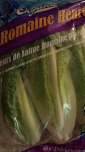 Most grocers carry packaged organic Romaine lettuce (Photo Credit: Adroit Ideals)