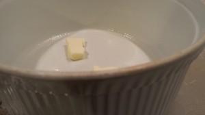 Butter a deep baking dish (Photo Credit: Adroit Ideals)