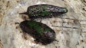 Blackened jalapenos have a deeper smoky flavor (Photo Credit: Adroit Ideals)