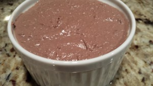Hubby's Chicken Liver Pate -- ready for the fridge!  (Photo Credit: Adroit Ideals)