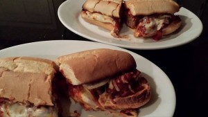 Hearty Meatball Sandwiches: Heaven on a plate. (Photo Credit: Adroit Ideals)