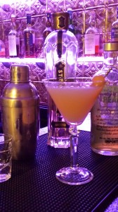 My Winter Pear Martini with St. Germain Liqueur celebrates the season! (Photo Credit: Adroit Ideals)