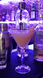 My pretty Winter Pear Martini is a great addition to your cocktail list for the holidays!  (Photo Credit: Adroit Ideals)