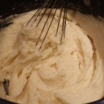 Whisk the mashed potatoes to make them light and fluffy (Photo Credit: Adroit Ideals)