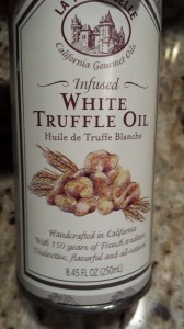 White Truffle Oil (Photo Credit: Adroit Ideals)