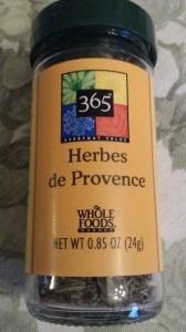 Whole Foods Market's 365 brand Herbes de Provence (Photo Credit: Adroit Ideals)