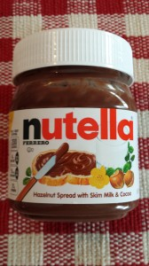 Nutella!  (Photo Credit: Adroit Ideals)