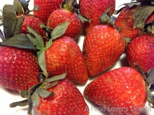 Organic strawberries are sweet and wonderful (Photo Credit: Adroit Ideals)