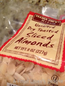 Trader Joe's Dry Toasted Sliced Almonds (Photo Credit: Adroit Ideals)