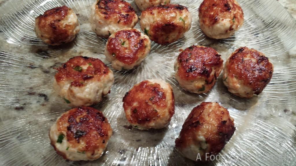 Easy Turkey Meatballs from my recipe elsewhere on this site! (Photo Credit: Adroit Ideals)