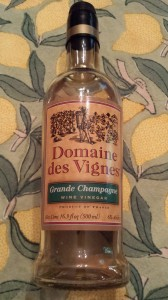 Champagne vinegar enhances Dijon Mustard Dressing (Photo Credit: Adroit Ideals)