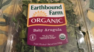 Earthbound Farm's Organic Baby Arugula (Photo Credit: Adroit Ideals)