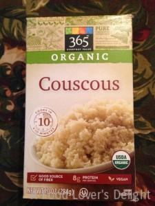 Whole Foods Market's organic couscous (Photo Credit: Adroit Ideals)
