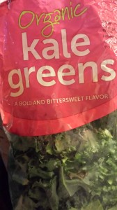 Chopped organic kale adds texture and vitamins to a chopped salad (Photo Credit: Adroit Ideals)
