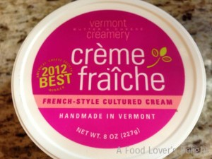 Creme Fraiche is a French-style cultured cream (Photo Credit: Adroit Ideals)
