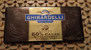 Ghirardelli makes a fancy bittersweet chocolate (Photo Credit: Adroit Ideals)