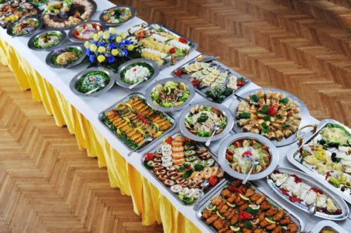 Party Buffet Table