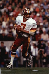 Joe Theismann during his NFL days (Photo Credit: National Football League)