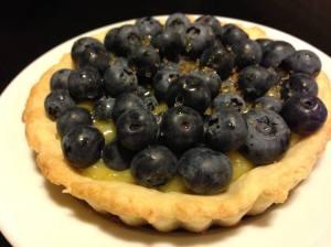 Blueberry Lemon Curd Tart (Photo Credit: Adroit Ideals)