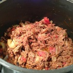 Shredded Buffalo Taco Meat (Photo Credit: Adroit Ideals)