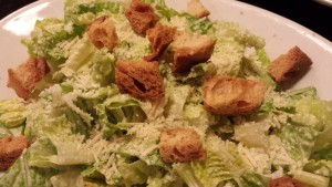 Caesar Salad with Crispy Croutons (Photo Credit: Adroit Ideals)