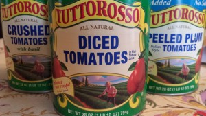 Use Tuttorosso canned tomatoes in your recipes!  (Photo Credit: Adroit Ideals)