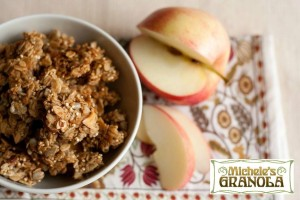 Michele's seasonal Apple Quinoa Granola (Photo Credit: Michele's Granola)