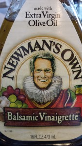 Newman's Own Balsamic Vinaigrette is the only bottled dressing on my favorites list (Photo Credit: Adroit Ideals)