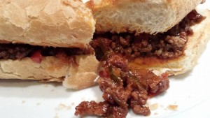 Super Sloppy Joe is messy but worth it (Photo Credit: Adroit Ideals)