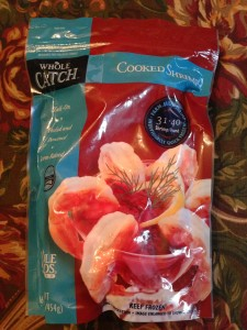 Whole Foods Market's Whole Catch pre-cooked shrimp (Photo Credit: Adroit Ideals)