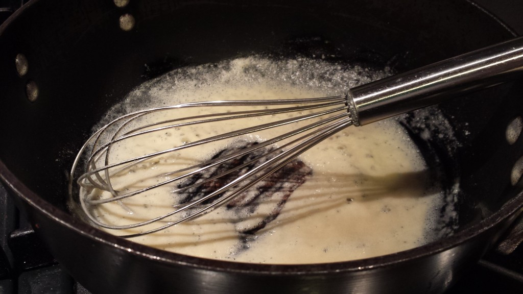 Make a roux with butter and flour  (Photo Credit: Adroit Ideals)