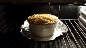 Bake the Beef Shepherd's Pie until the top is browned and bubbling  (Photo Credit: Adroit Ideals)