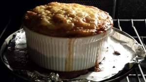 Bubbling top on the Shepherd's Pie  (Photo Credit: Adroit Ideals)