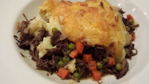 Plate the Shepherd's Pie  (Photo Credit: Adroit Ideals)