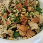 Marinated Chicken Tomato Orzo Salad (Photo Credit: Adroit Ideals)