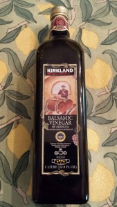 Costco's Kirkland Brand Balsamic Vinegar is a great deal (Photo Credit: Adroit Ideals)
