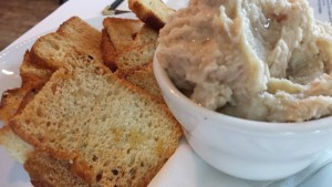 Garlicky White Bean Dip at Lupo di Mare in Rehoboth, Delaware (Photo Credit: Adroit Ideals)