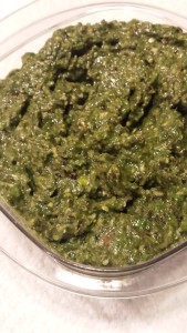What to DO with all that Spring Mix: Make Spring Mix Pesto (Photo Credit: Adroit Ideals)