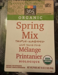 Whole Foods Market's 365 Brand Spring Mix (Photo Credit: Adroit Ideals)