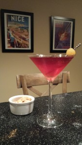 The Pomegranate Pear Martini (Photo Credit: Adroit Ideals)