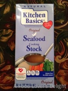 Kitchen Basics makes a good seafood stock  (Photo Credit: Adroit Ideals)