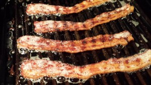 Crisp some bacon (Photo Credit: Adroit Ideals)