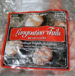 Trader Joe's carries Langostino tails which taste like lobster