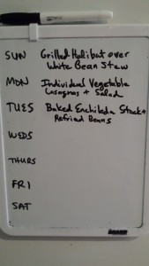 Weekly Meal Planning in Progress (Photo Credit: Adroit Ideals)