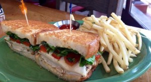 The Chicken and Havarti Sandwich at Sweetwater Tavern, Sterling, VA (Photo Credit: SweetwaterTavernSterling)