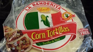 Corn tortillas work best for fish tacos. Remember to use two corn tortillas per taco. (Photo Credit: Adroit Ideals)