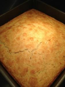Buttermilk Cornbread recipe from Whole Foods Market (Photo Credit: Adroit Ideals)